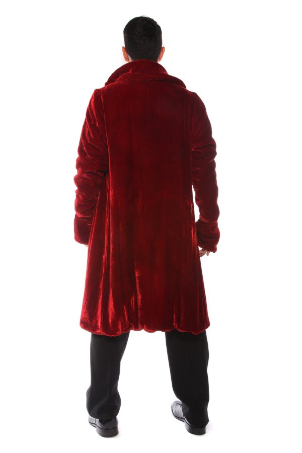 SUPER DELUXE VAMPIRE COUNT COSTUME rear