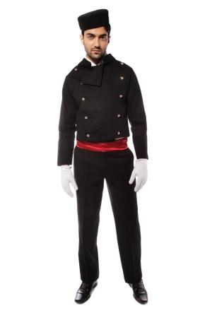 BELL BOY BLACK COSTUME