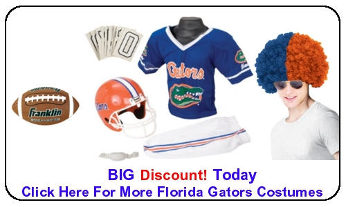 Click Here For More Florida Gators Costumes  sc 1 st  Halloween Costumes On Sale & Florida Gators Costumes | Halloween Costumes For Kids Men u0026 Ladies