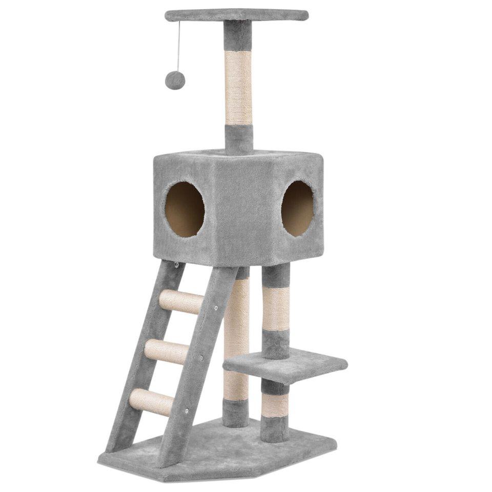Cat Tree Kitten Scratching Post Activity Centre Climbing Tower