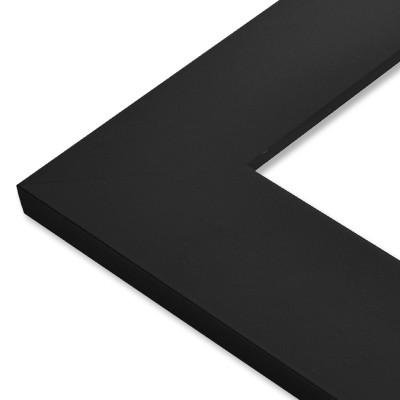 cadre large noir