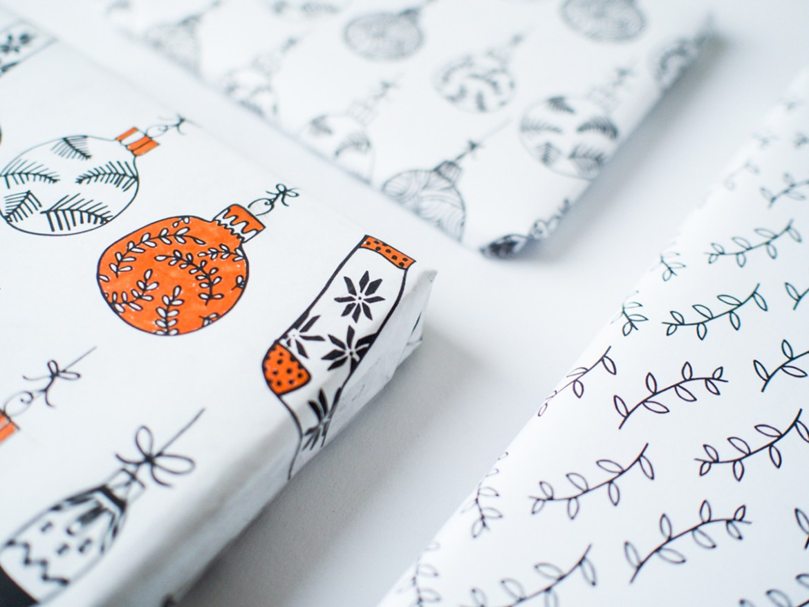 Downloadable Gift Wrapping Paper