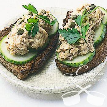 Crostinis de sardines