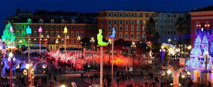 Parcours artistique Guidé sur la ligne du Tramway à Nice