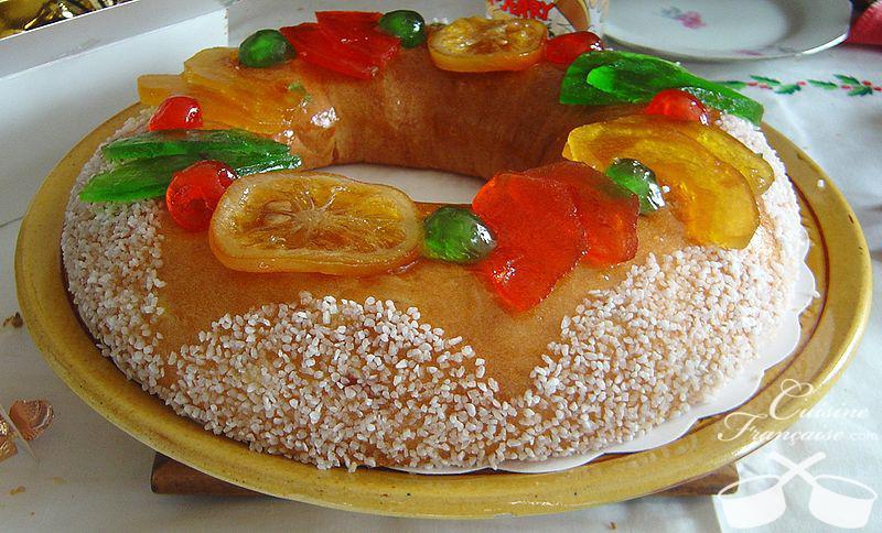 La brioche des rois (galette provençale)