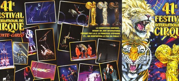 Festival du cirque de Monte-Carlo à Monaco – Côte d'Azur