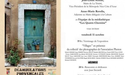 Exposition photographique collective intitulée Villages