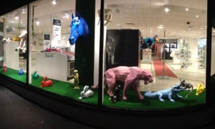 The animals : les animaux envahissent les Galeries Lafayette