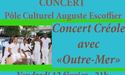 """Concert créole avec """"Outre-Mer"""""""