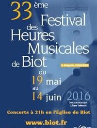 Les heures musicales de Biot