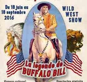 Exposition estivale La Légende de Buffalo Bill