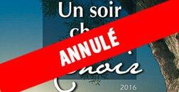 Un soir chez Renoir – Manifestation annulée