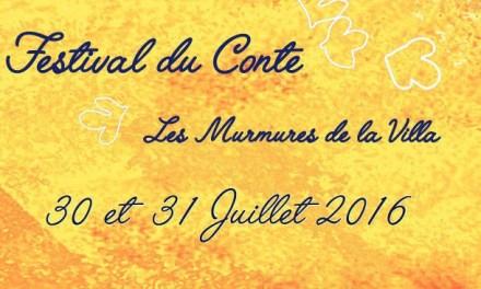 Festival du conte – Les Murmures de la Villa