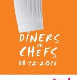 Diners de Chefs Châteaux & Hôtels Collection pour les Restaurants du Coeur