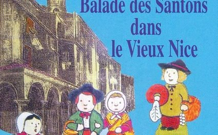 Balade des santons dans le vieux Nice