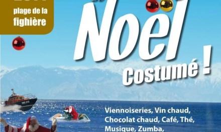 Bain de Noël Villeneuve Loubet