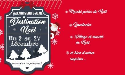 Destination Noël à Vallauris Golfe-Juan
