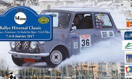 Rallye hivernal classic