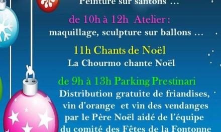 Noël à La Fontonne