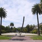 Le Jardin Albert 1er et l'arc de Bernard Vernet, Benjamin MAXANT©