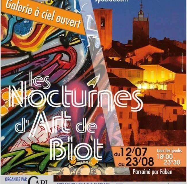 Les Nocturnes d'Art de Biot
