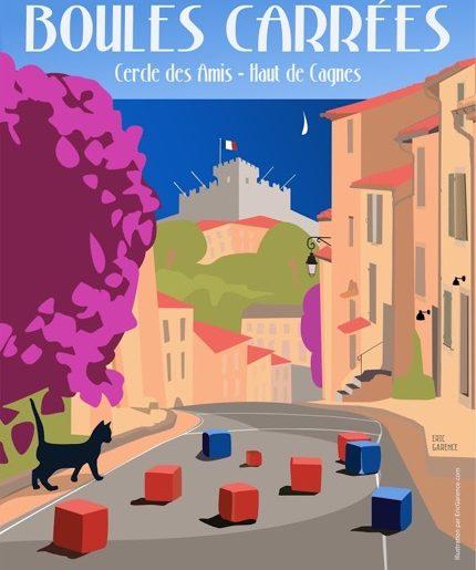 Championnat du Monde des Boules Carrées à Cagnes-sur-Mer