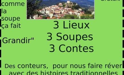 3 lieux 3 soupes 3 contes