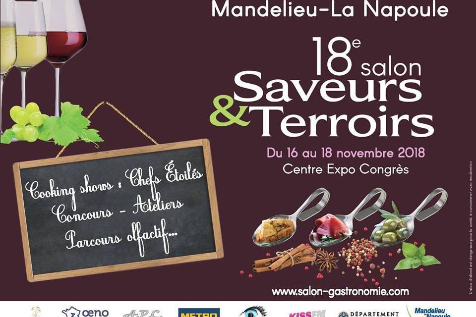 Salon Saveurs et Terroirs de Mandelieu-La Napoule