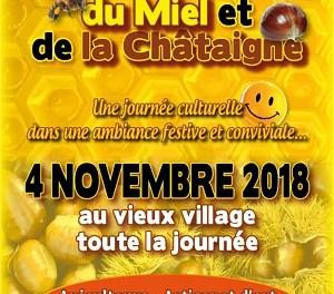 Fête du Miel et de la Châtaigne de Roquebillière