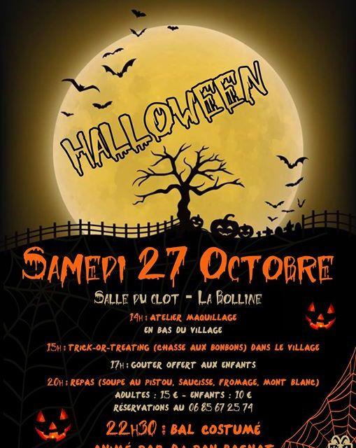 Halloween à Valdeblore