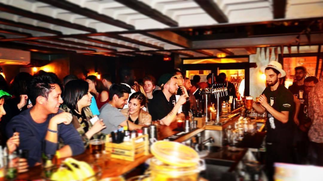 Riviera Bar Crawl