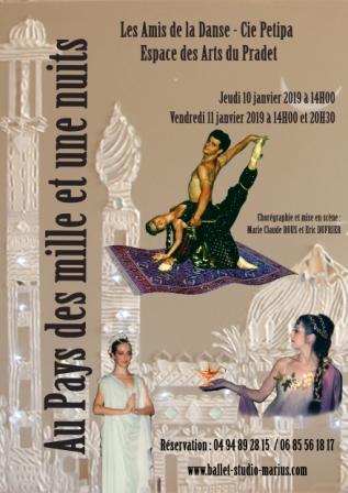 """Spectacle de ballet """"LesMille et une Nuits"""""""