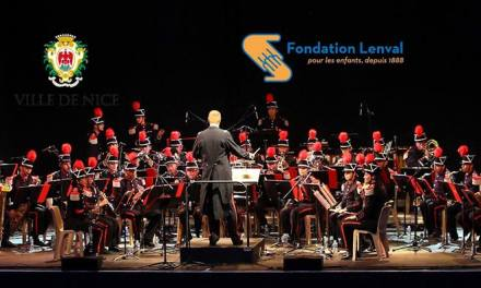 Concert caritatif de la Musique des Sapeurs-Pompiers de la Ville de Nice