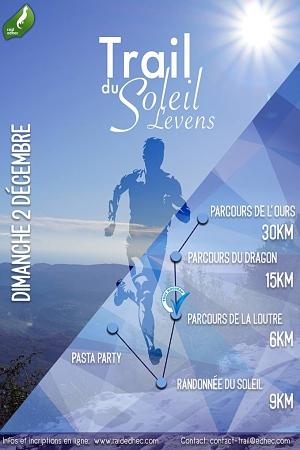 Trail du Soleil Levens 2018