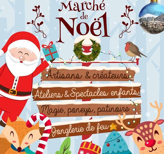 Marché de Noël à Saint-Martin-Vésubie