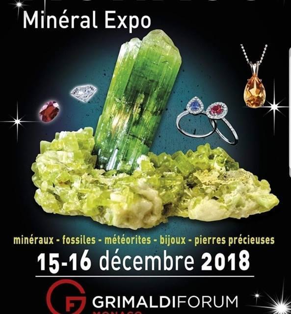 Salon minéraux bijoux météorites à Monaco
