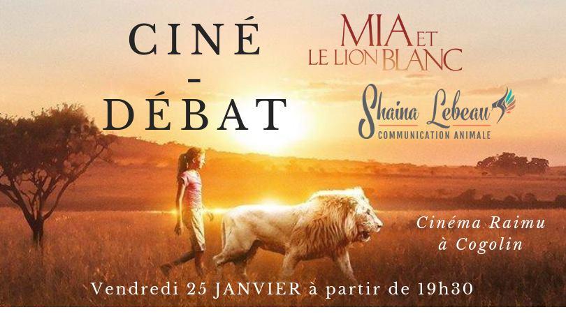 Ciné et Débat avec Shaina Lebeau à Cogolin