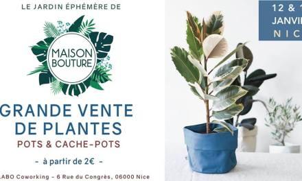 Le Jardin Éphémère de Maison Bouture à Nice