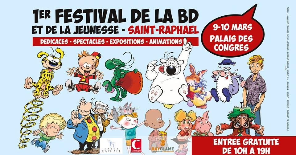 Festival de la Bande Dessinée et de la Jeunesse à Saint-Raphaël