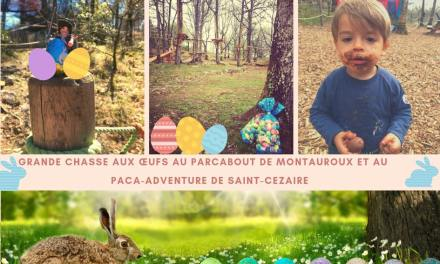 Chasse aux œufs  au Parcabout de Montauroux