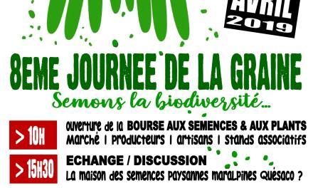 JOURNEE DE LA GRAINE 2019