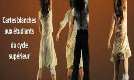 """Cartes blanches"" par le Centre International de Danse Rosella Hightower"