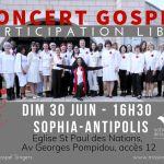 CONCERT GOSPEL gratuit  Sagesse Gospel Singers