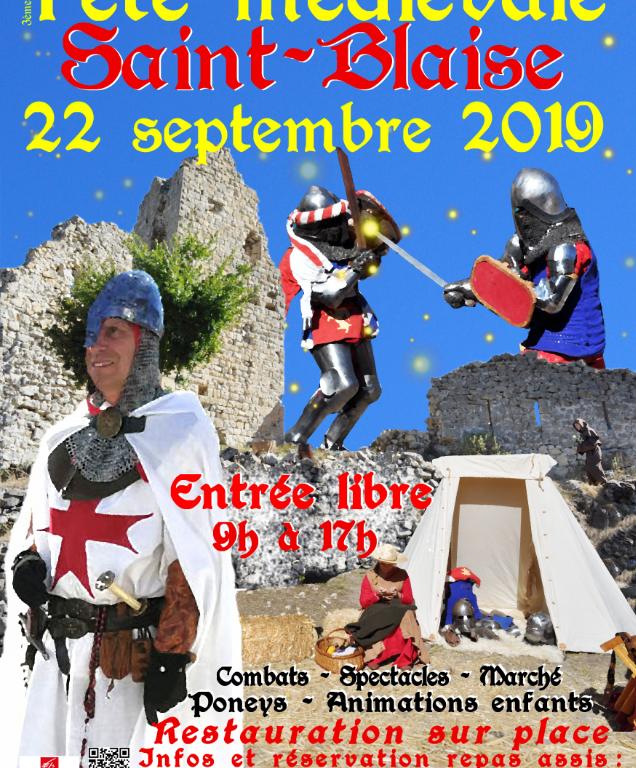 Fête médiévale à Saint-Blaise
