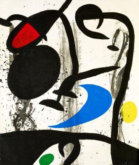 Exposition Miró à la Fondation Maeght
