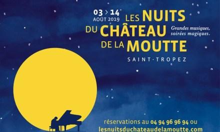 Les Nuits du Château de la Moutte à Saint-Tropez