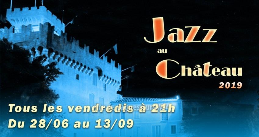 Jazz au Château à Cagnes-sur-Mer