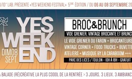 Broc & Brunch – Yes Week-End Festival