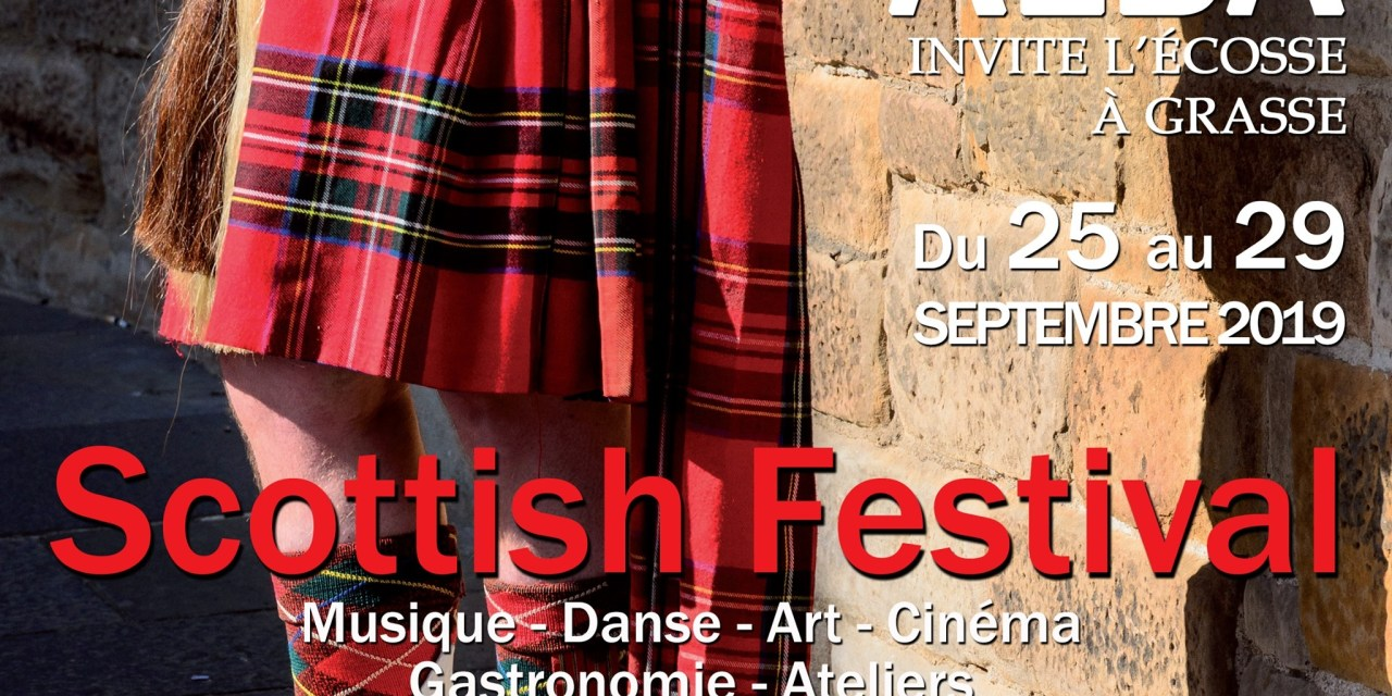 Scottish Festival à Grasse