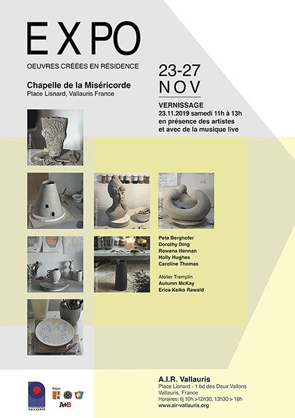 EXPO : Œuvres créées en résidence/ Works created in residence
